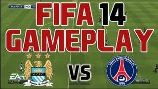 FIFA 14 DEMO GAMEPLAY #3 - MAN CITY vs PSG - Gamescom 2013 - Xbox 360 - HQ