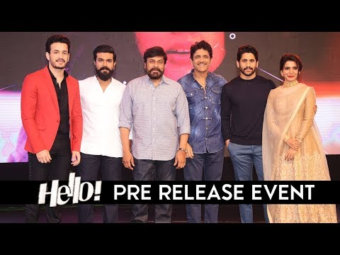 Hello Movie Pre Release Event | LIVE | Akhil Akkineni | Kalyani | Chiranjeevi | Ram Charan | TFPC