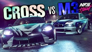 Need for Speed HEAT - Using Cross' Corvette in the Final Mission vs the Most Wanted BMW M3 GTR