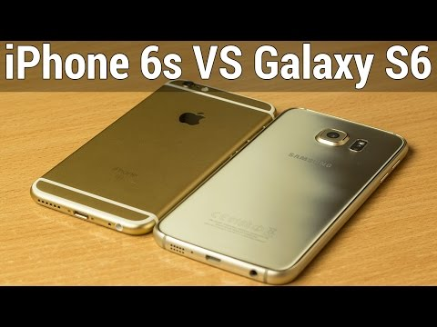 Apple iPhone 6s VS Samsung Galaxy S6 сравнение. Что лучше iPhone 6s или Galaxy S6 by FERUMM.COM