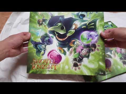 Shovel Knight Plague of Shadows vinyl unboxing