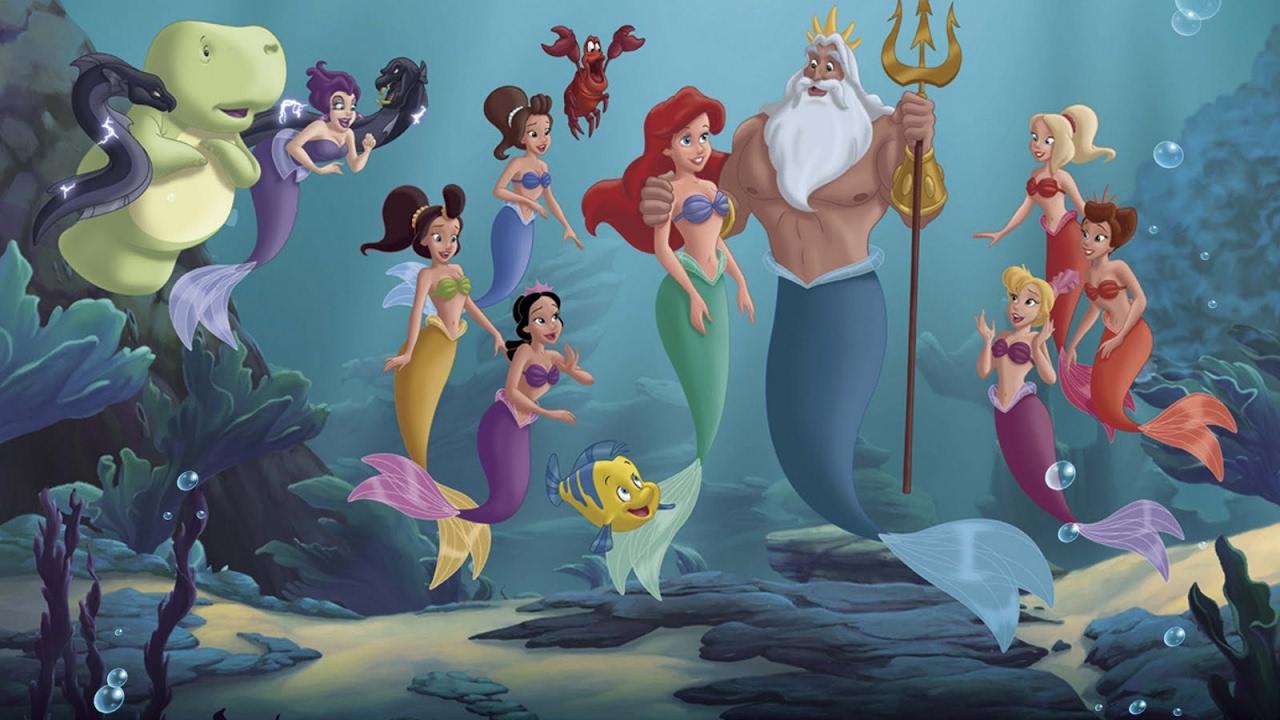 Filme A Pequena Sereia A Historia De Ariel Youtube
