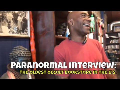 Haunted Road Trip, IL - Tour of Oldest Occult Bookstore in US!