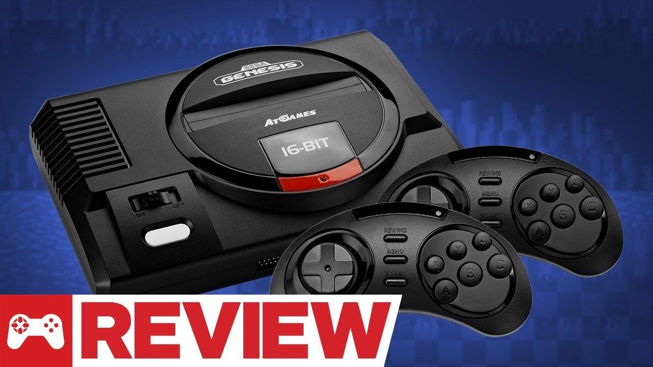 Sega Genesis Flashback Review Youtube