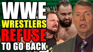 WWE Wrestlers REFUSING To Travel To Saudi Arabia In 2020 & Upset With Vince McMahon! (Want to Quit)