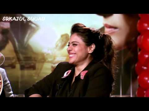 The Funniest Interview of SRKAJOL