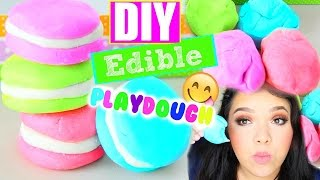 DIY Edible Play Dough! Pinterest Inspired!