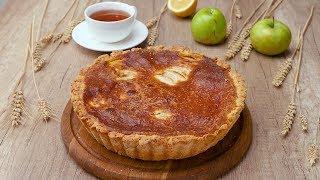 Яблочно-ореховый пирог - Рецепты от Со Вкусом