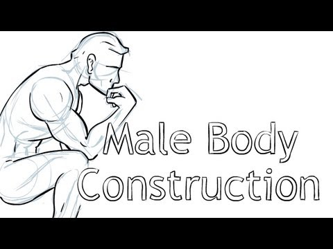 How to Draw - the Male Body