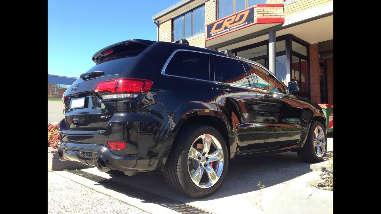 crd custom dyno tune 2014 srt jeep grand cherokee 6.4 hemi v8