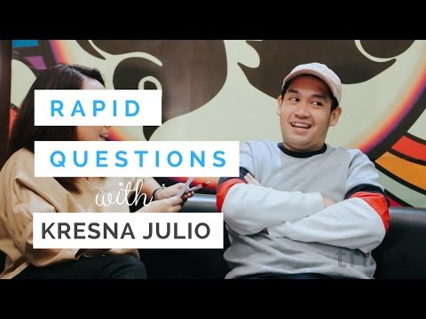 Kepoin Seleb: Rapid Question With Kresna Julio
