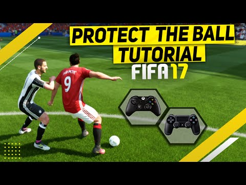 FIFA 17 ATTACKING TECHNIQUES TUTORIAL - HOW TO SCORE EASY GOALS WITH THE NEW SHIELDING TRICK