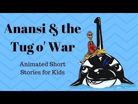 Anansi and the Tug o' War (Animated Stories for Kids)
