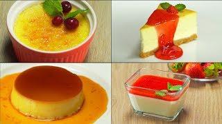 4 рецепта самых популярных сливочных десертов. Рецепт от Всегда Вкусно!
