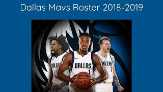 Dallas Mavericks Roster