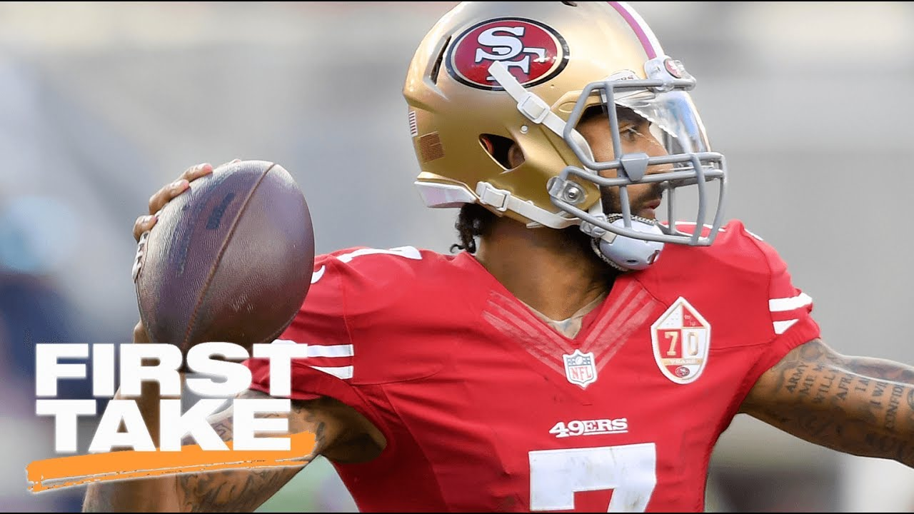 Is Colin Kaepernick The Answer For The Ravens First Take Espn Youtube