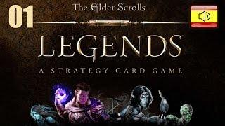 The Elder Scroll Legends. #1 Nuevo CCG de Bethesda. Presentación y tutorial, parte 1/2