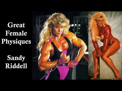 Great Female Physiques – Sandy Riddell – Bodybuilding & Fitness Motivation