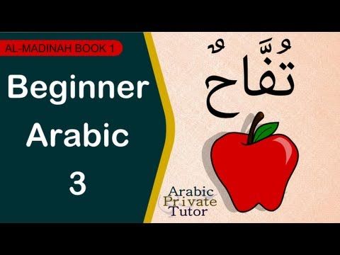 Beginner Arabic 3 - Arabic Private Tutor
