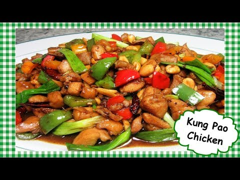 Best Chinese Kung Pao Chicken Stir Fry ~ Spicy Chicken Stir Fry Recipe