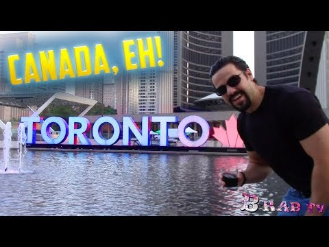 What's Canada Really like? (Tour of Toronto)