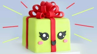 Cutest Kawaii CHRISTMAS Gift CAKE!