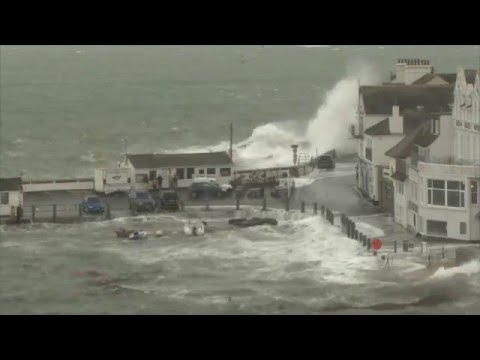 St Mawes Storm 2016