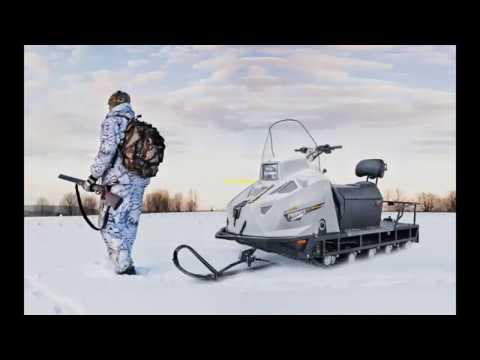 Снегоход Stels МОРОЗ 600L Обзор 2018г.