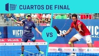 Cuartos de Final Paquito/Lebrón Vs Botello/Ruiz Cervezas Victoria Mijas Open