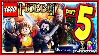 Lego the Hobbit - Walkthrough Part 5 The Troll Hoard Cave thing co-op (PS4)