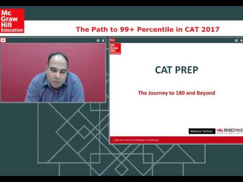 How to get 99+ Percentile in CAT 2017
