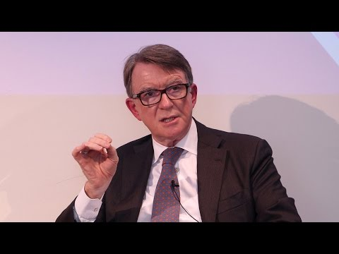 In conversation with Lord Mandelson