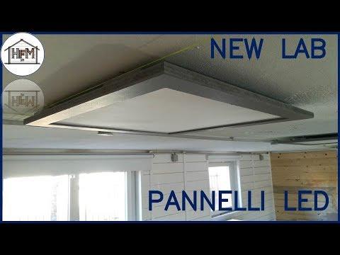 Pannelli led per lilluminazione del nuovo laboratorio youtube
