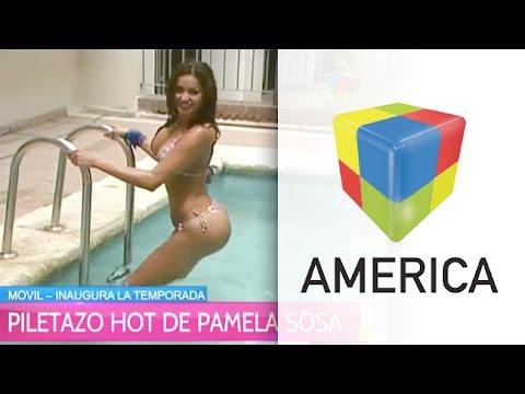 Piletazo hot de Pamela Sosa