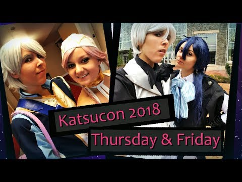 Katsucon 2018 Vlog ~ Thursday & Friday