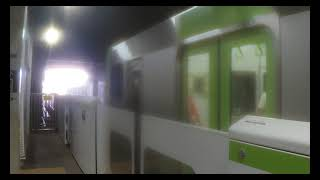 【JR山手線】 E235系トウ50編成 池袋・新宿方面行き 日暮里発車