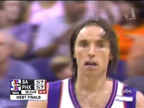 Steve Nash (29pts/13asts) vs. Spurs (2005 Playoffs)