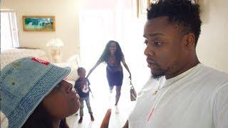Abusive Boyfriend Fights GirlFriend Prank  On Beam Squad
