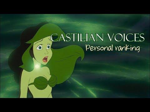 Personal Ranking   Castilian Female Voices