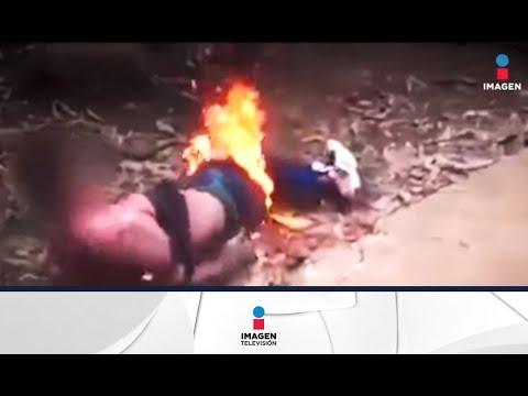 Prenden fuego a violador en Guatemala | Noticias con Francisco Zea