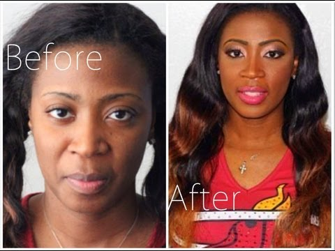 Full Makeup Transformation Behind the Scenes Travel Video