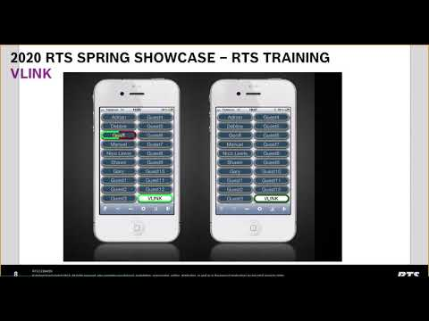 How To Set Up Remote Production With VLink - RTS Spring Showcase 2020
