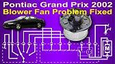 Fuse Box Location And Diagrams Pontiac Grand Prix 1997 2003 Youtube