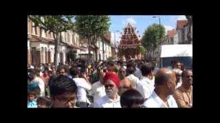London Sri Muruganai kana Ayiram kan vendum தேர்த்திருவிழா 2013