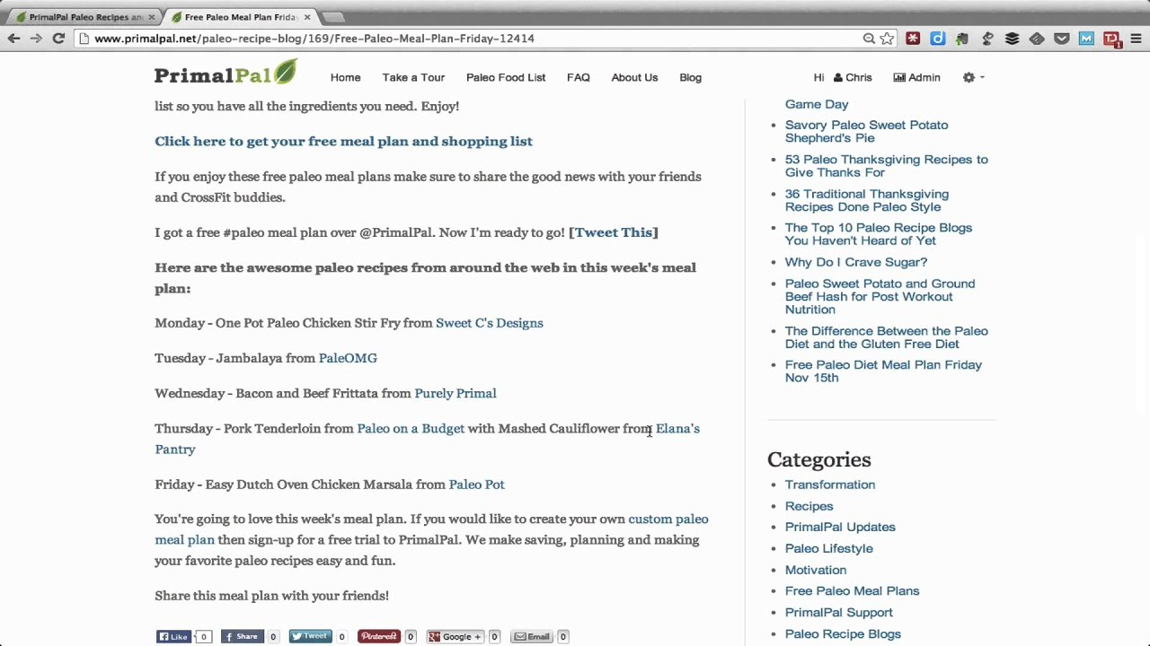 This weeks free paleo meal plan and shopping list youtube this weeks free paleo meal plan and shopping list malvernweather Images