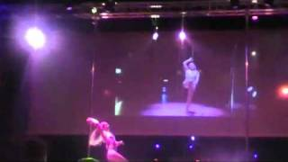 Cindy Jechow - European Pole Dance Competition 2010