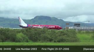 Virgin australia ZK-PBI Boeing 737-8FE(WL) - cn 34440 / ln 2003