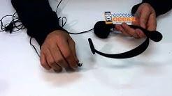 Operator Style Headset 2.5mm
