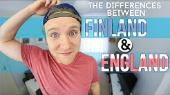 FINLAND & ENGLAND (The Differences) | Dave Cad