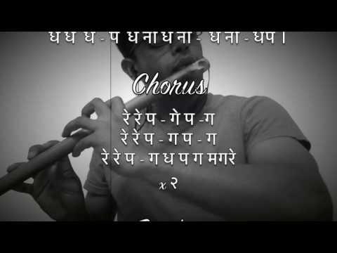 Tujhe Dekh Dekh Sona Flute Cover/Play Along